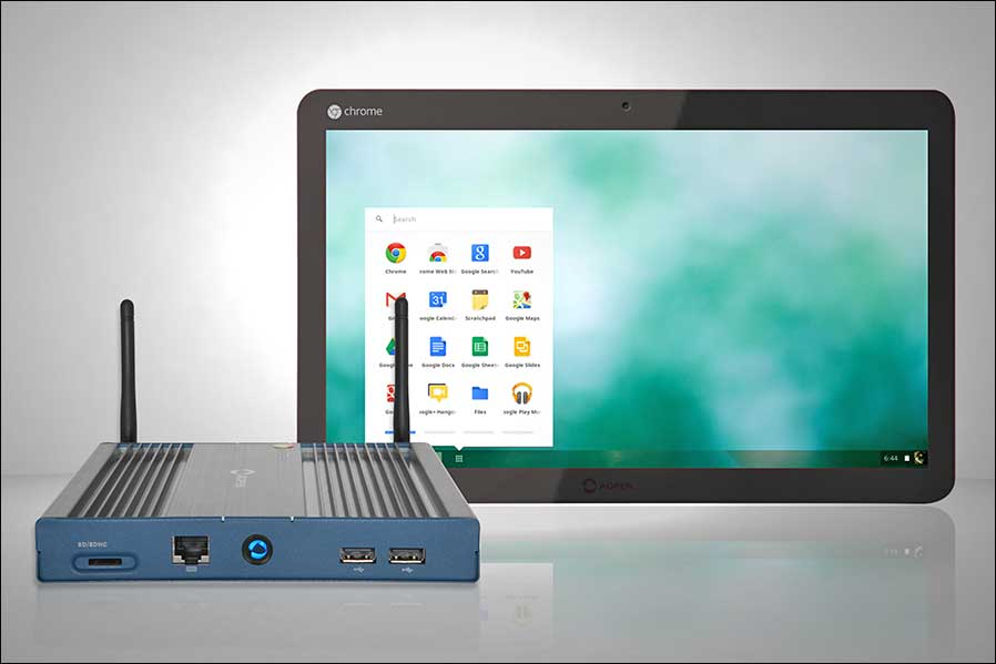 AOPEN Chromebox und Chromebase