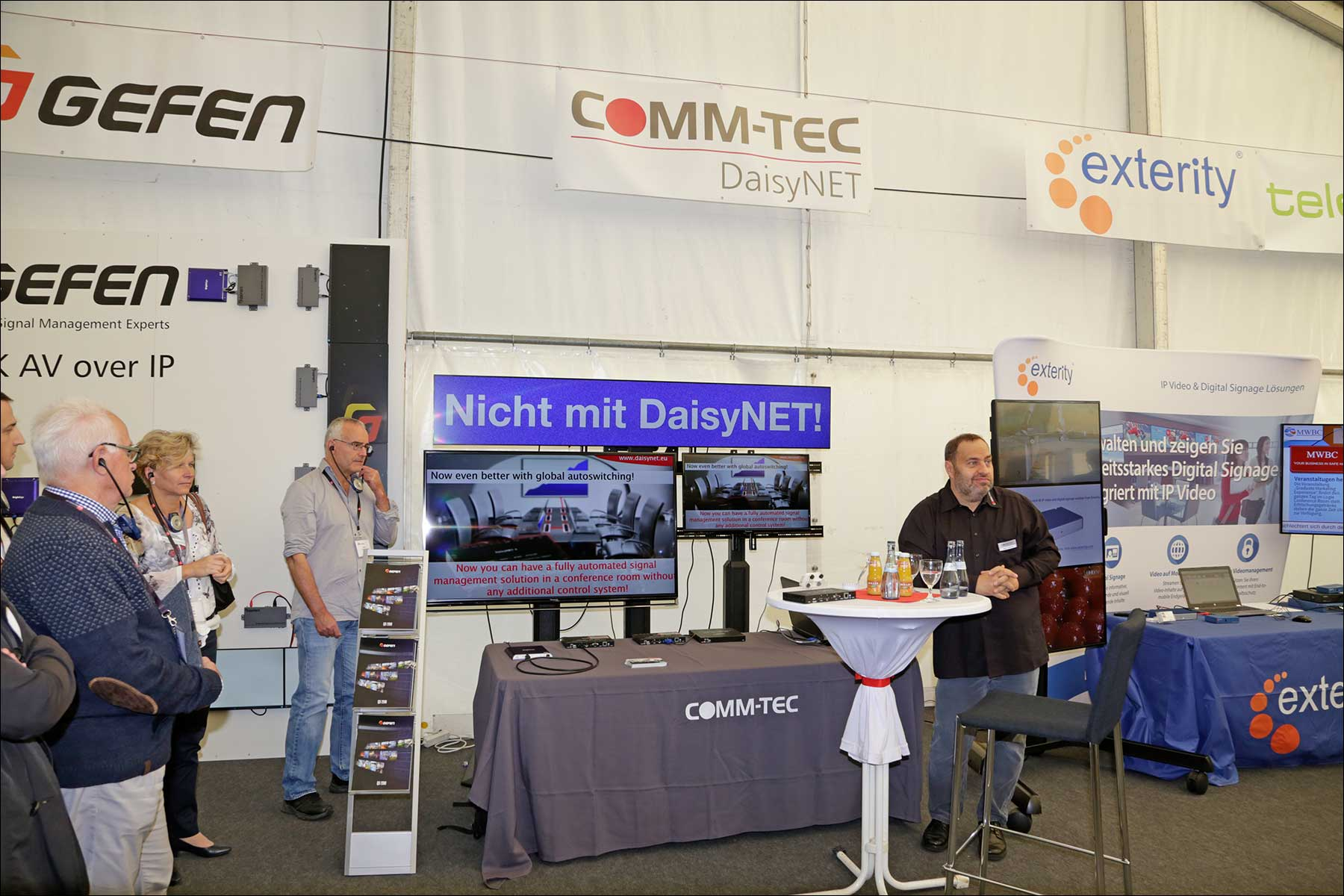 COMM-TEC S14 Solutions Day 2018