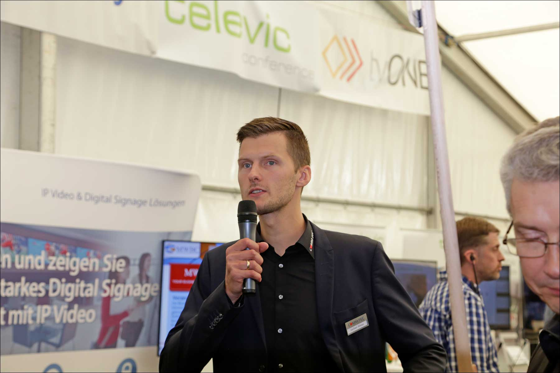 Jochen Wiese beim COMM-TEC S14 Solutions Day 2018