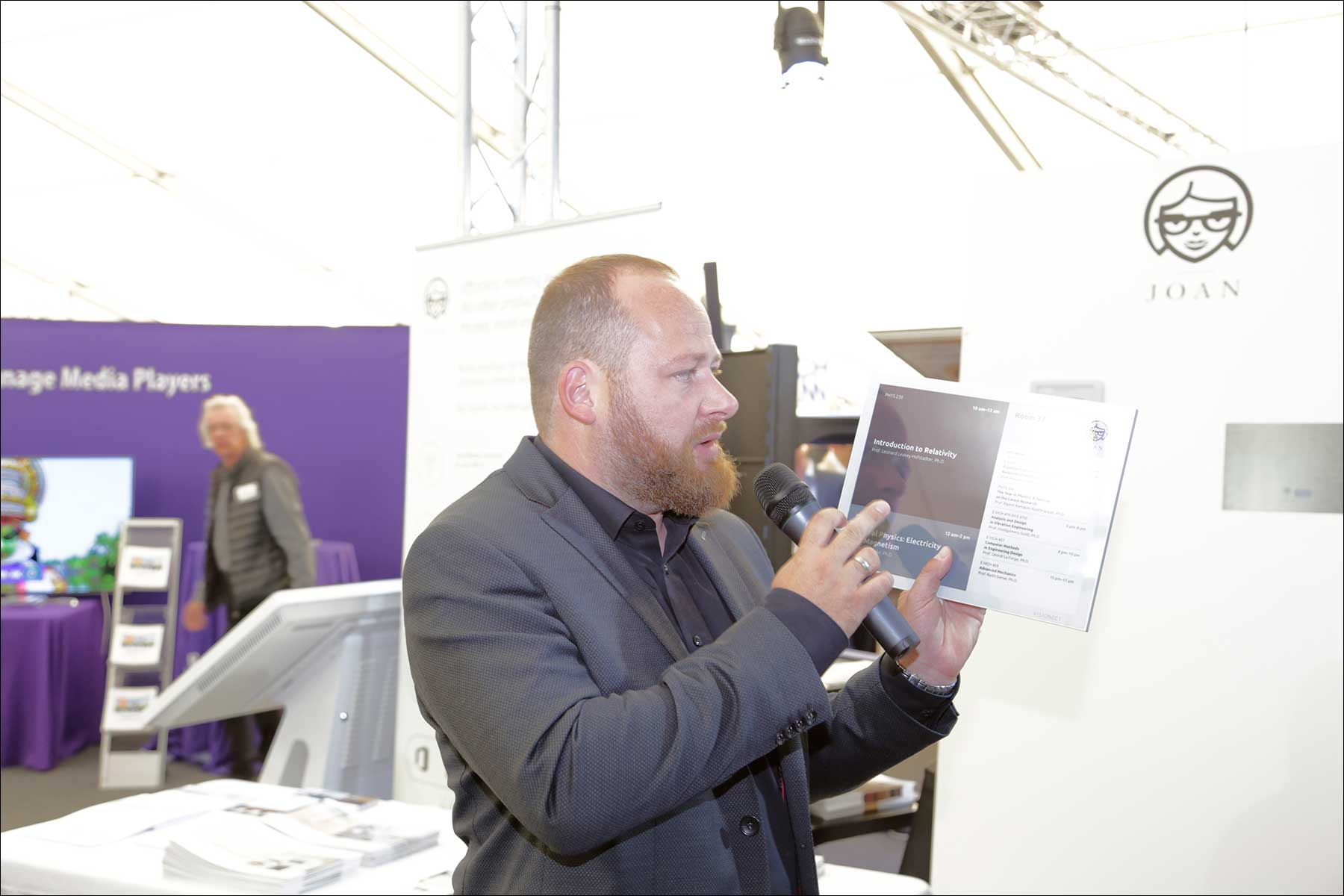Marc Schiedl beim COMM-TEC S14 Solutions Day 2018