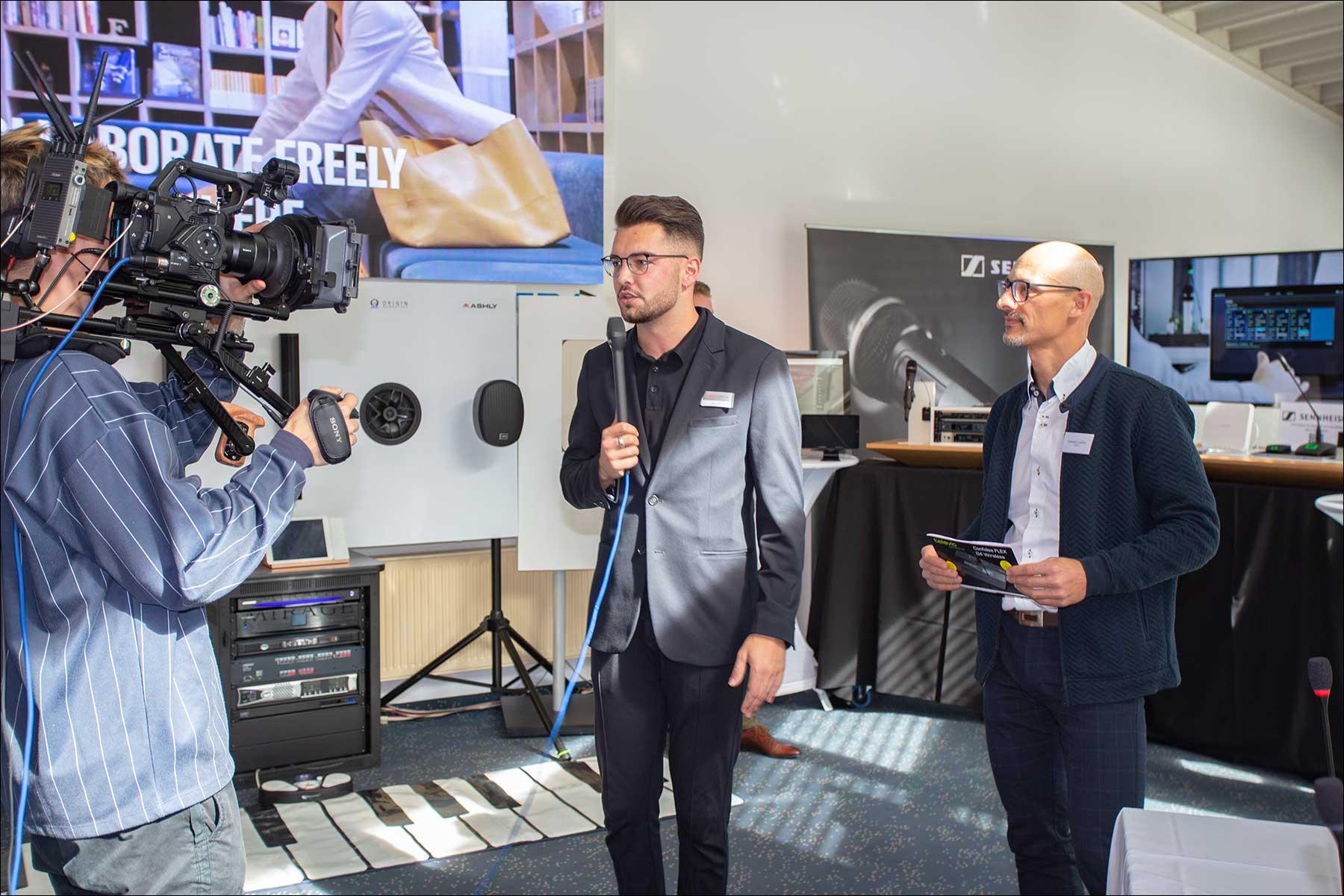 Pro Audio Solutions im Hauptgebäude von exertis Pro AV (Foto: Tom Becker)