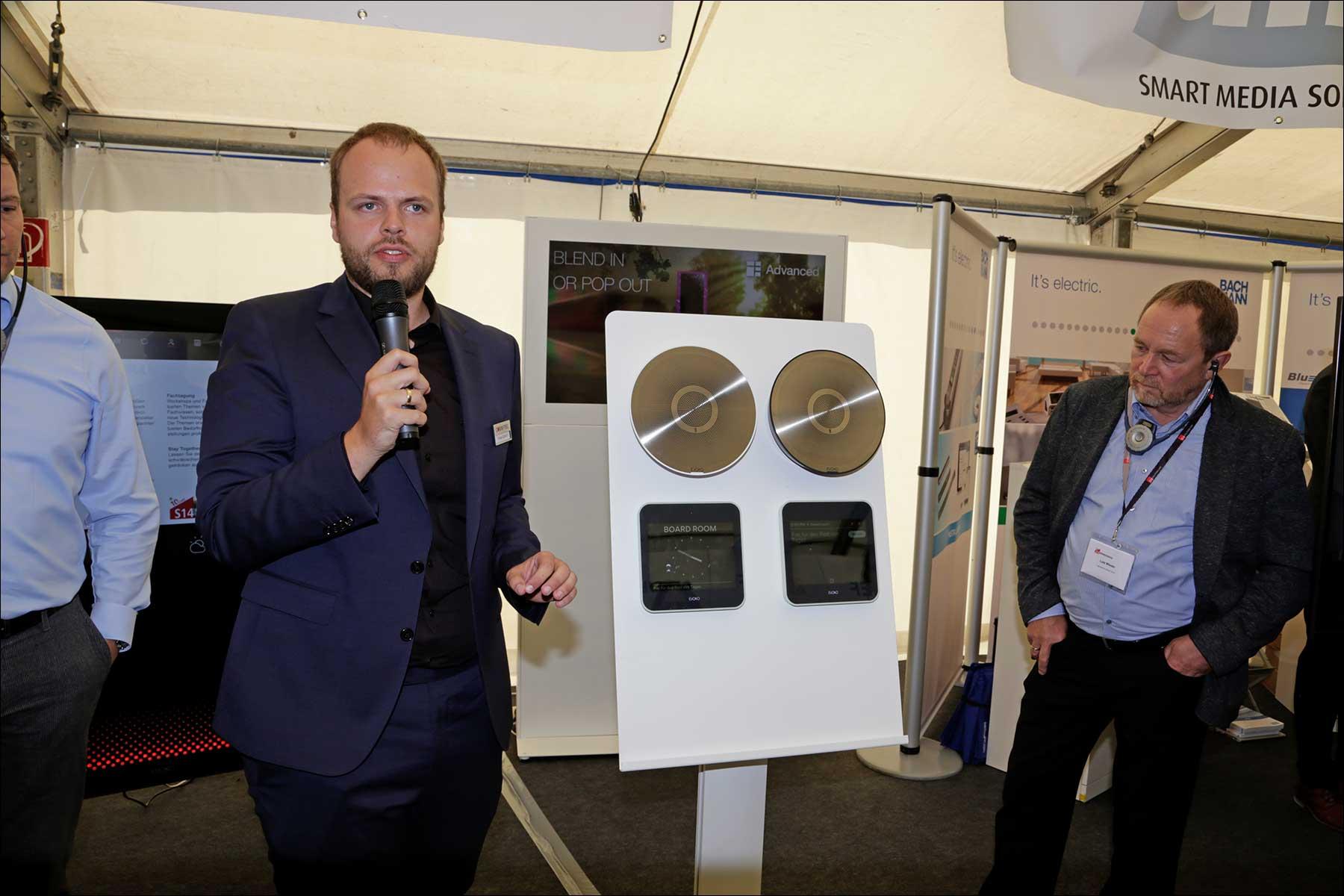 Tobias Ebitsch beim COMM-TEC S14 Solutions Day 2018