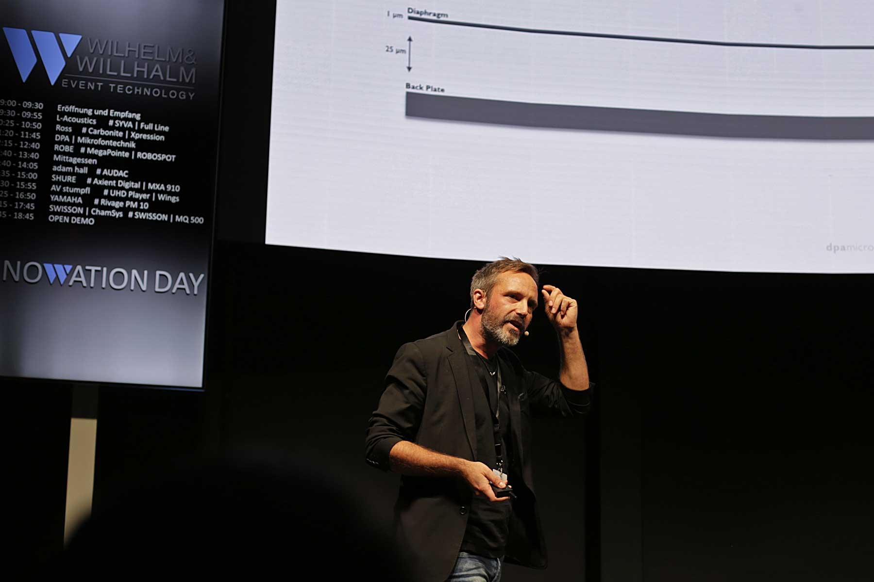 Rune Slot erklärte, warum es von DPA kein dynamisches Mikrofon gibt.