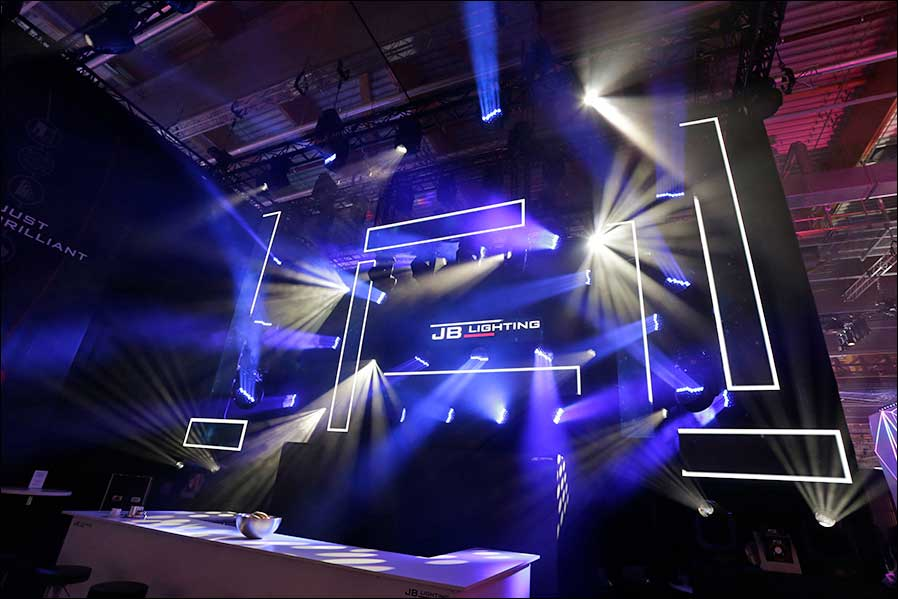 JB Lighting auf der Prolight + Sound