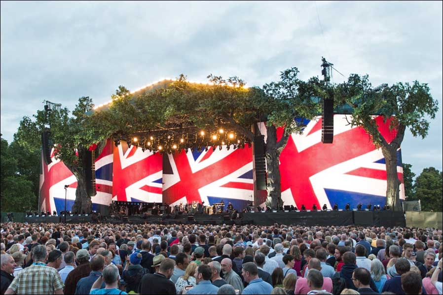 The Who beim British Summer Time Festival im Londoner Hyde Park