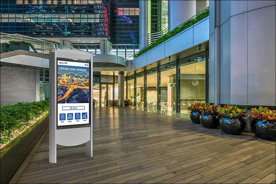Smart-City-Kiosk von Peerless-AV