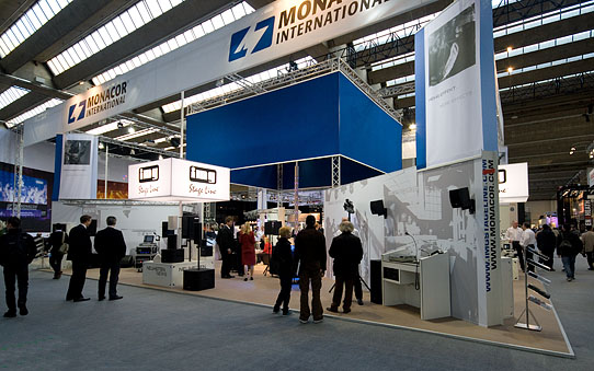 MONACOR International auf der Prolight + Sound 2012 auf DieReferenz.de