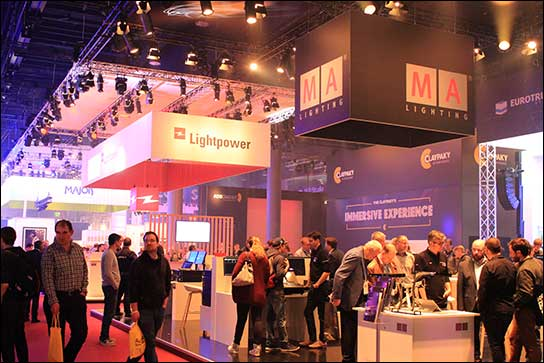 MA Lighting bei Lightpower auf der Prolight + Sound 2017
