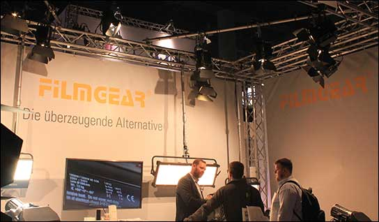 Filmgear bei Lightpower auf der Prolight + Sound 2017