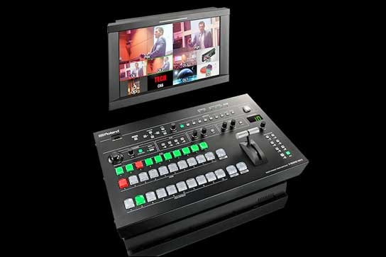 Neuer Video-Switcher: Der Roland V-800HD MKII