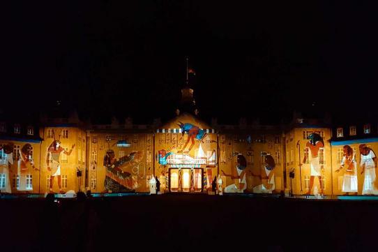 Das Karlsruher Schloss vollkommen verzaubert: LEGACY von Maxin10sity