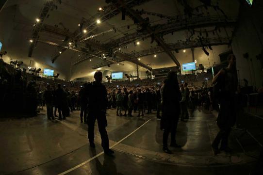 La Brass Banda in der Olympiahalle