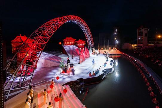 Seefestspiele Mörbisch mit viel Licht von Clay Paky (Fotos: Jerzy Bin)